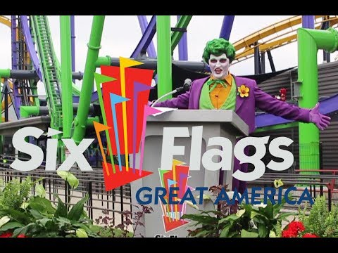Exclusive Look: The Joker Coaster at Six Flags Great America