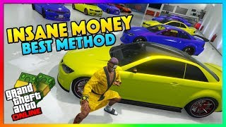GTA 5 Online NEW Solo Easy Unlimited Money Guide/Method | Duplicate Modded Sentinel Cars PS4/XB1/PC