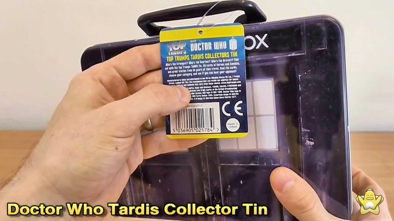 Doctor Who-Tardis Tin