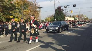 Cpl. Nathan Cirillo Military Funeral Procession