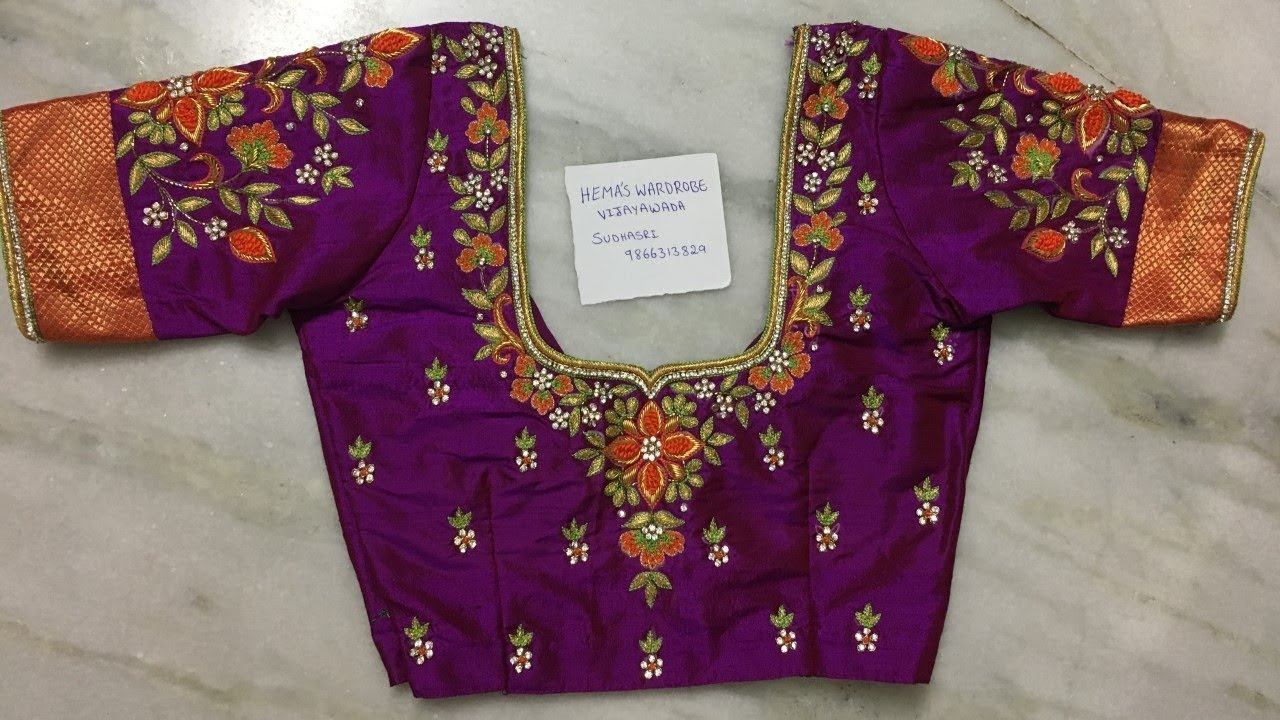 Blouse Designs Photos 2018 Maggam Work Latest Blouse Designs Saree Blouse Designs Photo Gallery Blouses Discover The Latest Best Selling Shop Women S Shirts High Quality Blouses,Simple Wedding Cake Designs