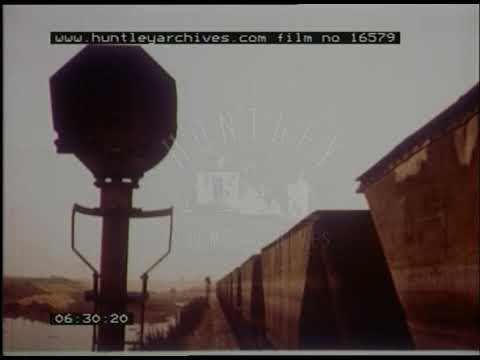 From Colliery To Power Station By Rail, 1970s - Film 16579