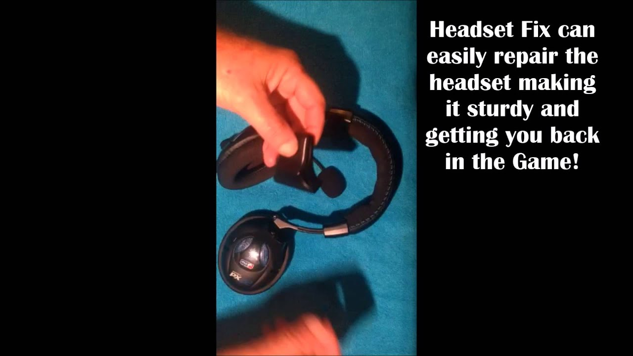 63b572d6827 Repair Turtle Beach X12/PX22 Headphone Fix - YouTube