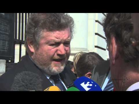 Minister for Health James Reilly discusses HSE funding deficit