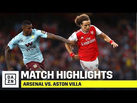 HIGHLIGHTS   Arsenal vs. Aston Villa