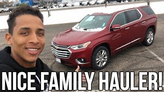 2018 Chevy Traverse Review!! From A Tall Guys Perspective..