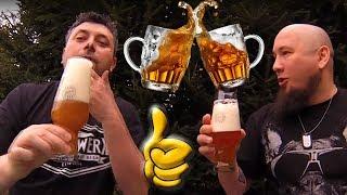 Fajowe piwo #24 Testujemy piwo Tomka :)