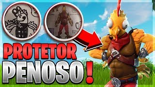 EPIC DID IT! HISTORY OF SKIN CHICKEN! PENOSO PROTECTOR-FORTNITE
