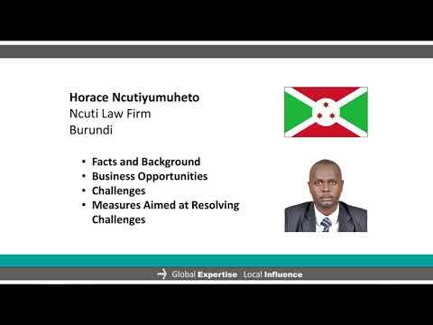 Doing Business in Africa BURUNDI