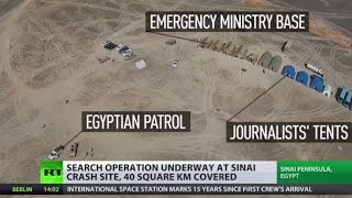 Sinai Crash: Search zone expanded, voice recorders & black boxes to shed light on tragedy