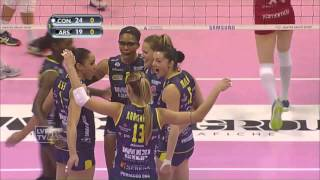 #A1FVolley - Conegliano-Busto Arsizio 3-0: highlights
