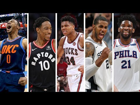 NBA 2nd Team All-NBA | Best Plays From Russell Westbrook, Giannis Antetokounmpo, Joel Embiid + More!