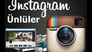 Türk Ünlülerin instagram Hesapları 2017 Video