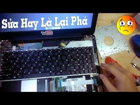 Tự Sửa Laptop Bị Liệt Bàn Phím Tại Nhà - Thủy Văn TV