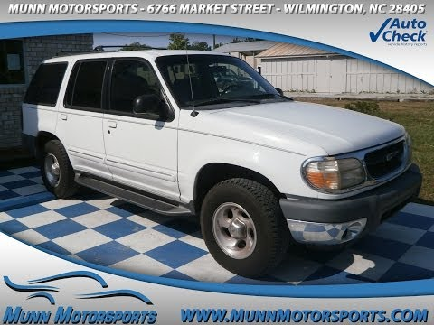 2000 Ford Explorer XLT 4dr SUV for sale in WILMINGTON, NC