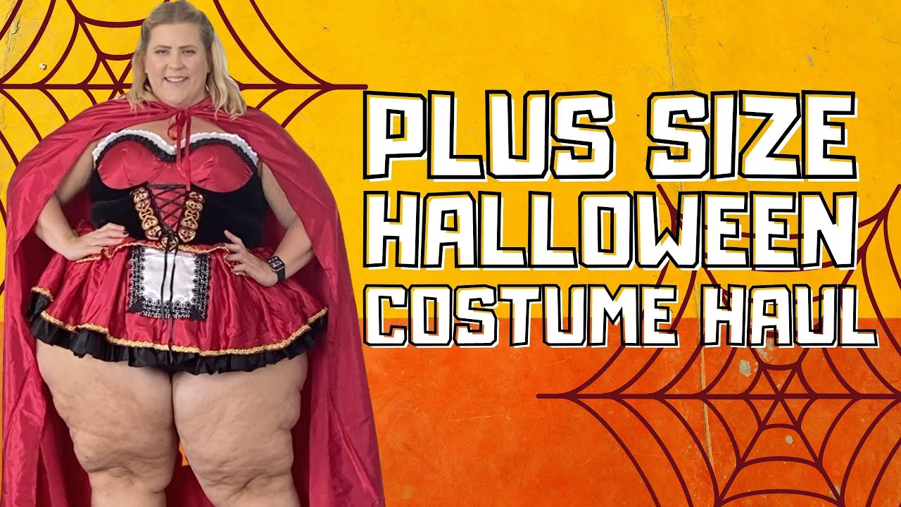 TRY ON HAUL: PLUS SIZE HALLOWEEN COSTUMES FROM AMAZON