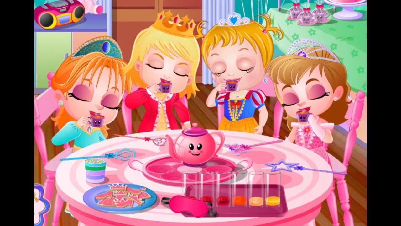Baby Hazel Tea Party • Free Online Games at PrimaryGames