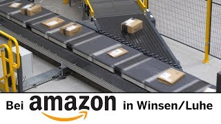 Versandfabrik Amazon: Einblick in das Logistikzentrum Winsen