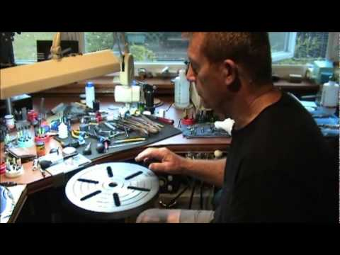 part 1 - Hand Engraving Lettering by Mike Dubber; Engraving tool from www.AirGraver
