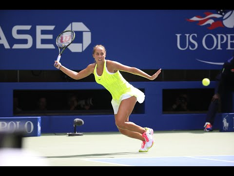 2017 US Open: 15-Love with Madison Keys