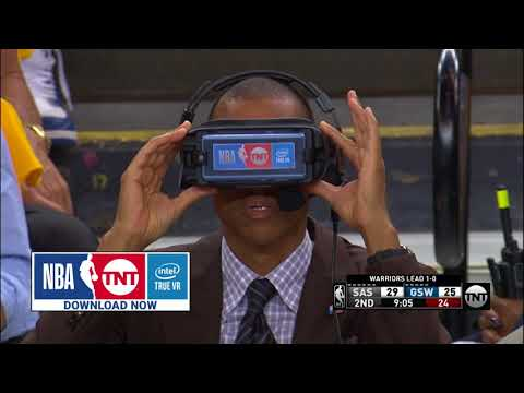 Courtside with NBA on TNT VR Powered by Intel True VR
