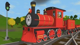 The Alphabet Adventure With Alice And Shawn The Train - (Letter A)