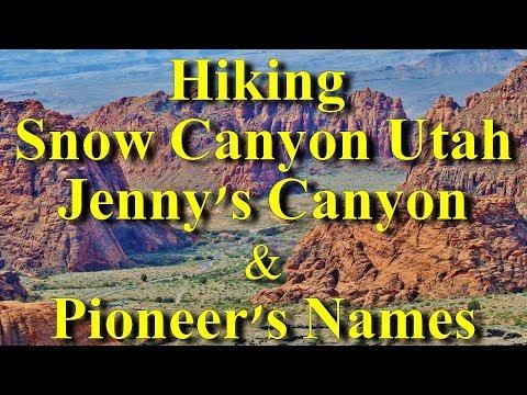 Snow canyon Utah