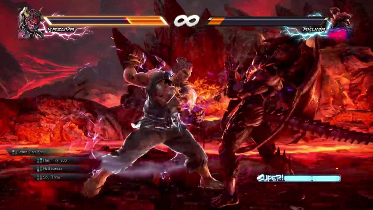 Tekken 7 final boss beaten(how to beat akuma)