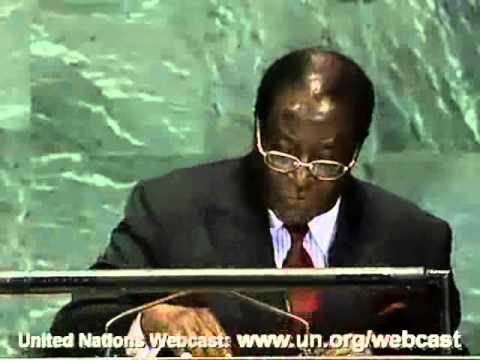 Zimbabwe UN 61st General Assembly by President Robert Mugabe