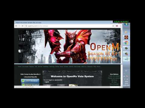 Open Mu Credits Hack -