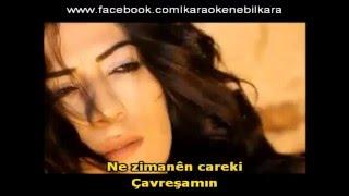 Şahe Bedo Kürtçe Karoke-Çavreşamın Karoke