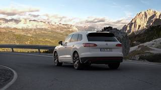 Touareg R Line Morph effect from 'R Line' to 'Highline'