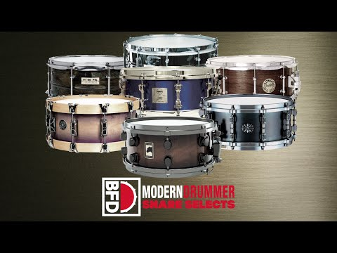 BFD Modern Drummer Snare Selects