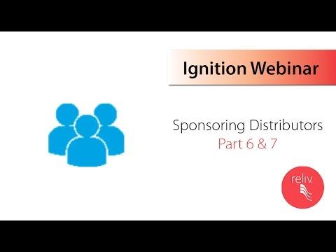 Sponsoring Distributors Parts 6&7