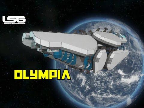 space engineers olympia light cruiser youtube