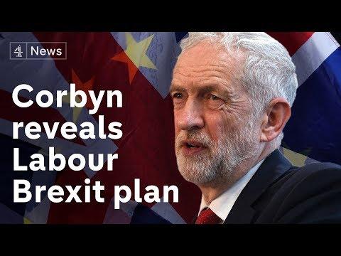 Jeremy Corbyn reveals Labour