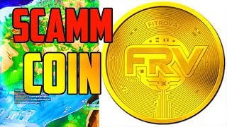 FITROVA COIN A SCAMM!!! STOP BUYING!!