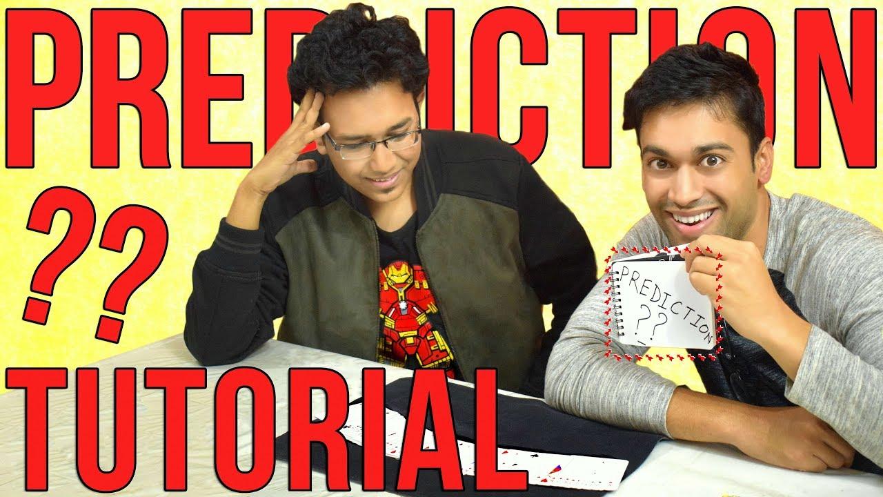Download PREDICTION MAGIC REVEALED ft. Sharan Kuttappa   Mentalism Trick Tutorial