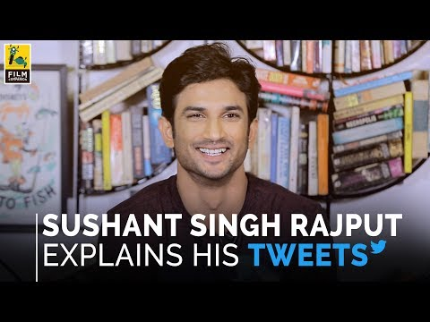 Sushant Singh Rajput Explains His Tweets | Film Companion