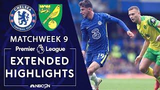Chelsea v. Norwich City   PREMIER LEAGUE HIGHLIGHTS   10/23/2021   NBC Sports