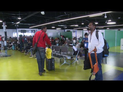 وصول دفعة من اللاجئين إلى إيطاليا  - 15:22-2018 / 7 / 16
