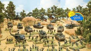 Домашние сражения игрушек ↑ Военные солдатики, самолёты, машины, вертолёты, ракеты ↑ Обзор игрушек