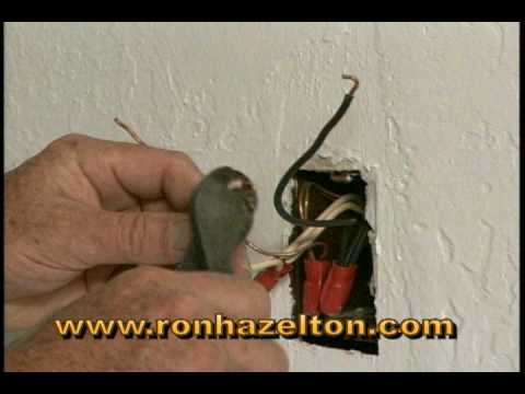 basement wiring diagram vehicle diagrams for remote starts how to install a ground fault circuit interrupter gfci youtube