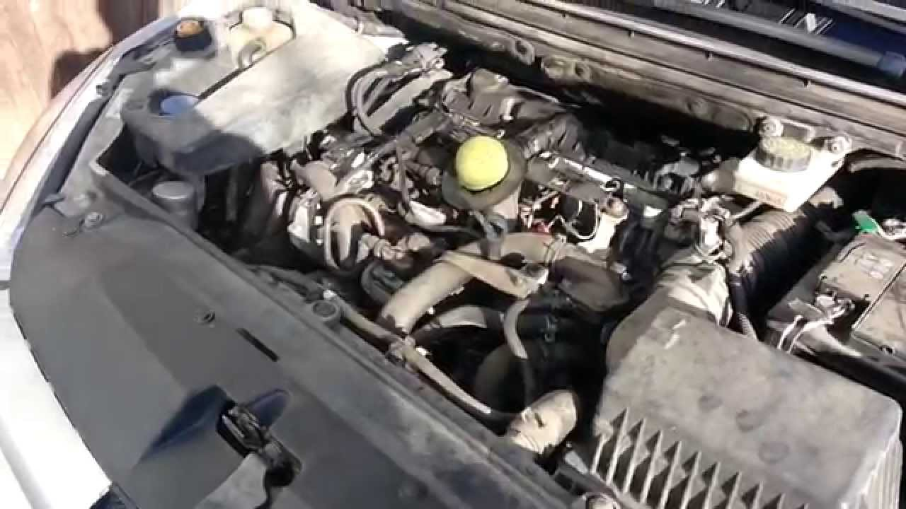 peugeot 307 hdi cooling system maintenance cooling fluid change repair [ 1280 x 720 Pixel ]