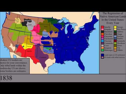 The Loss of Native American Lands Within the US: Every Year