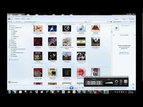 organizar la biblioteca - windows media player
