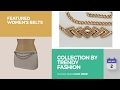 Collection By Trendy Fashion Jewelry Featured Women's Belts