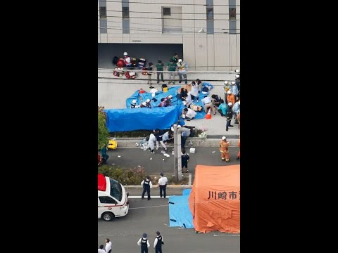 Japan stabbing: Two dead and 16 injured| CCTV English