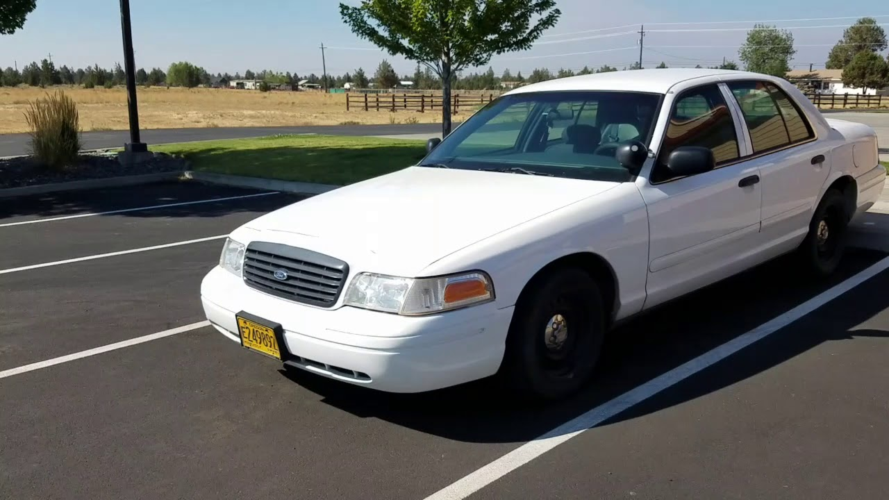 Govdeals  Ford Crown Victoria Police Interceptor