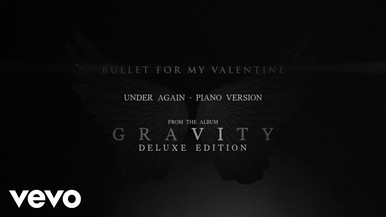 Bullet For My Valentine Under Again Piano Version Audio Youtube